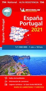 MAPA NATIONAL ESPAÑA - PORTUGAL 2021